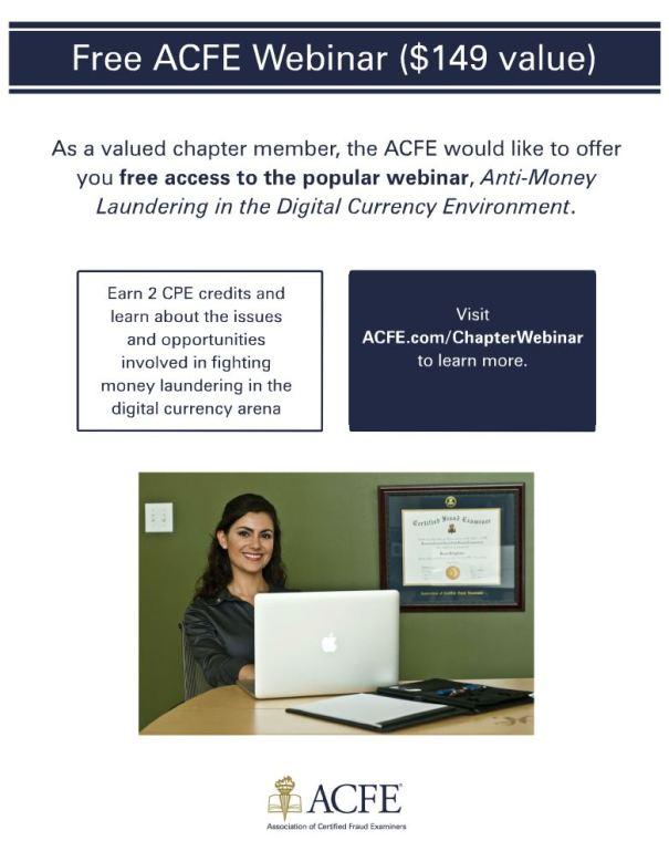 Free ACFE Webinar