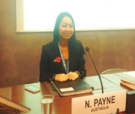 Namdi Payne - Legal Officer Legal Division Department of Foreign Affairs and Trade