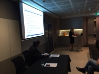 Ms Newton presenting to ACFE Sydney Chapter members and guests